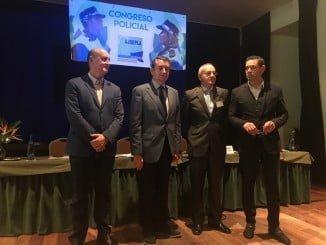 Antonio Sanz en la clausura del Congreso de Jefes y Directivos de la Policía Local de Andalucía