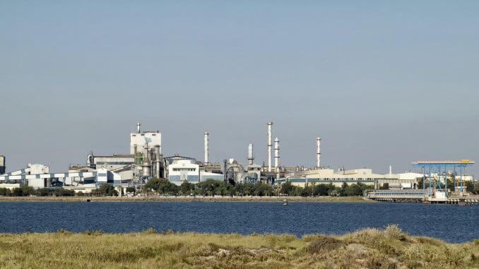 Instalaciones de Atlantic Copper en Huelva