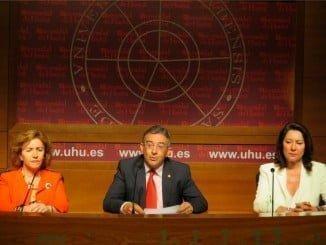 Francisco Ruiz hace balance de su gestión como rector en la legislatura 2013-2017