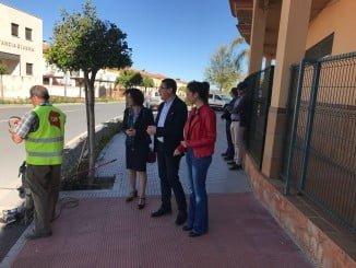 La Junta ha hecho hoy balance de la situación de obras en las carreteras de la provincia, en San Bartolomé de la Torre