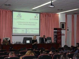 Carmen Muñoz Marín, CEO de Guidetrad Consulting, en una conferencia en la Universidad