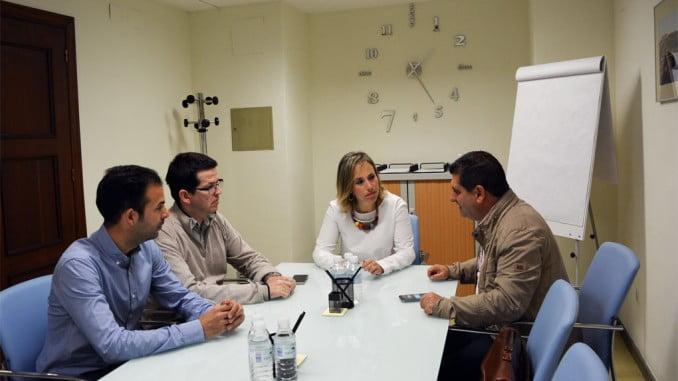 COAF y Diputación estrechan lazos