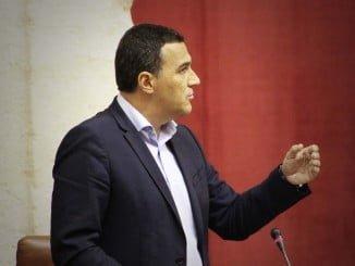 Carlos Hernández, parlamentario andaluz de Ciudadanos