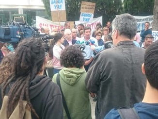 Los regantes de Palos se solidarizan con las reivindicaciones de los agricultores del Condado