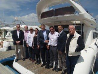 El convenio con ACNA se ha firmado en el Club Deportivo Náutico de Punta Umbría