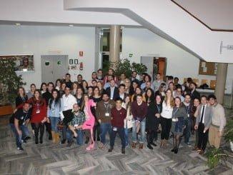 Encuentro en Huelva de la Asociación de Estudiantes Erasmus celebrado en febrero