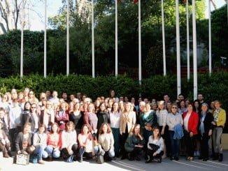 Europe Direct Huelva ha compartido en Bruselas un espacio con el resto de centros de la UE