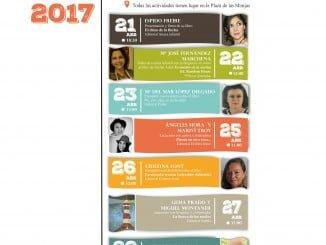 Cartel anunciador de las actividades para escolares