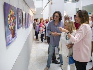 La exposición es el resultado de una clase magistral de una hora que fue impartida recientemente por Pilar Barroso al alumnado de la Asociación de Vecinos Los Desniveles