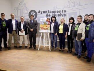 Presentación de la XLIII edición de la Feria del Libro en Huelva