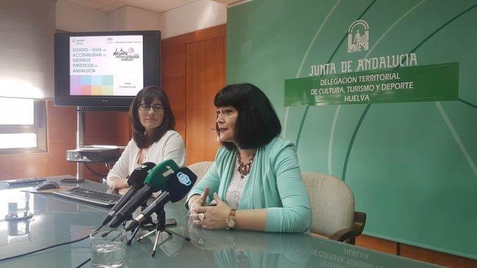 Carmen Solana en la presentación del 'Estudio y Guía de Destinos Turísticos Accesibles'