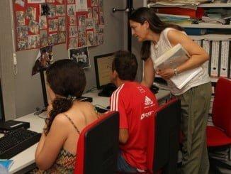 Uno de los ejes de Guadalinfo es mejorar las posibilidades de empleo a través de las nuevas tecnologías