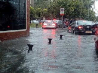 Huelva capital y varios pueblos de la provincia han sufrido importantes inundaciones