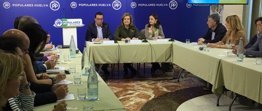 """Báñez ha destacado que tras los datos de la última EPA """"Huelva es la provincia andaluza donde más ha bajado el paro desde la recuperación"""