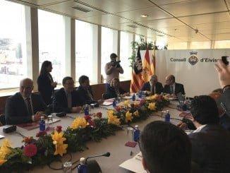 Reunión en Ibiza de los representantes de las Diputaciones