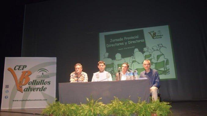 La apertura de la jornada ha corrido a cargo del delegado de Educación y el alcalde de Valverde