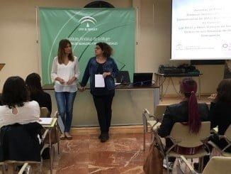 Un momento de las Jornadas que llevan por título 'Primeros Auxilios Psicológicos y Comunicación de Malas Noticias en Violencia de Género: Las Niñas y Niños Víctimas de Violencia de Género en una Situación de Crisis y Emergencia'