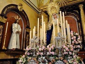 La Virgen de la Victoria, una de las mayores devociones de la ciudad, junto a la Esperanza