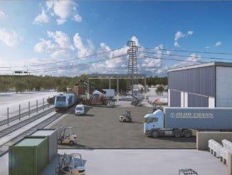 Las obras consisten en habilitar la Terminal para la carga y descarga de mercancía contenerizada