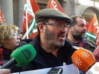 Pedro Jiménez, portavoz IU Diputación Provincial Huelva, pide que se amplíe la partida presupuestaria para el PFEA
