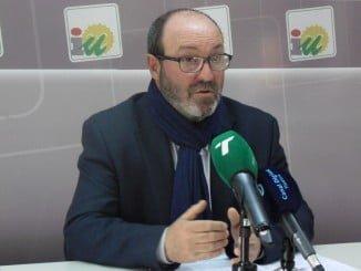 Pedro Jiménez, portavoz IU en Diputación Provincial