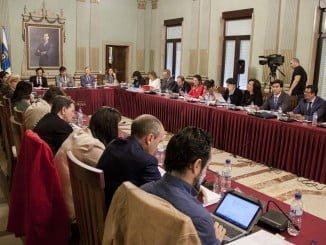 Sesión plenaria celebrada en el día de hoy