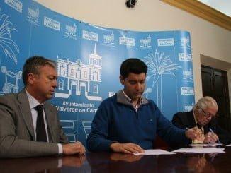 Ayuntamiento de Valverde y Colegio de Abogados partes firman el acuerdo de colaboración