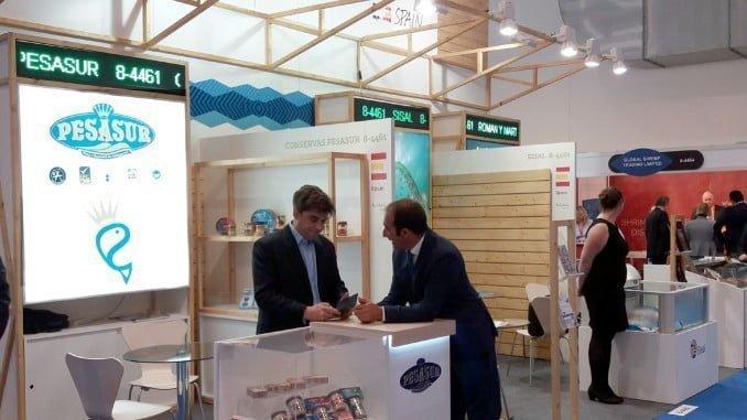 Siete empresas agroalimentarias andaluzas han participado de manos de Extenda en la Feria Sea Food Expo Global de Bélgica