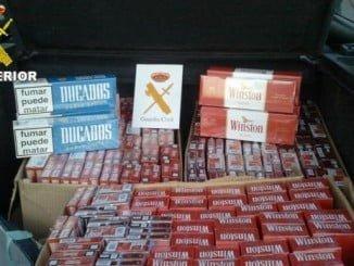 El grupo de detenidos era especialista en robo de tabaco