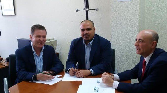 Representantes de AECO se han reunido con el nuevo jefe de la Inspección de Trabajo de Huelva