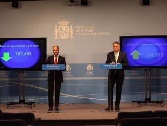 El Ministerio de Empleo y Seguridad Social ha dado a conocer los datos de afiliación del mes de marzo