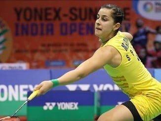 La onubense en el partido que la ha conducido a jugar la final del Open de India