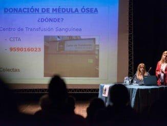 Charla sobre donación de médula en Ayamonte