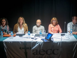 Charla sobre la prevención contra el cáncer en Ayamonte