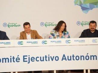 La Palma del Condado ha acogido el Comité Ejecutivo Regional del PP