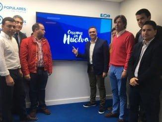 Manuel García Félix ha presentado a los miembros del Comité Organizador del Congreso Provincial del PP