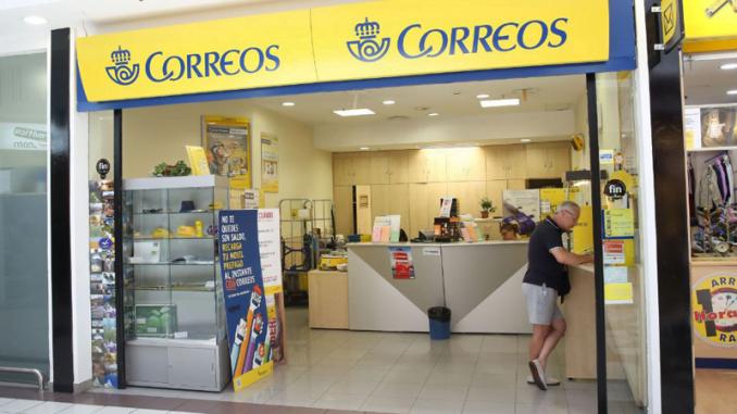Oficina de Correos en Huelva