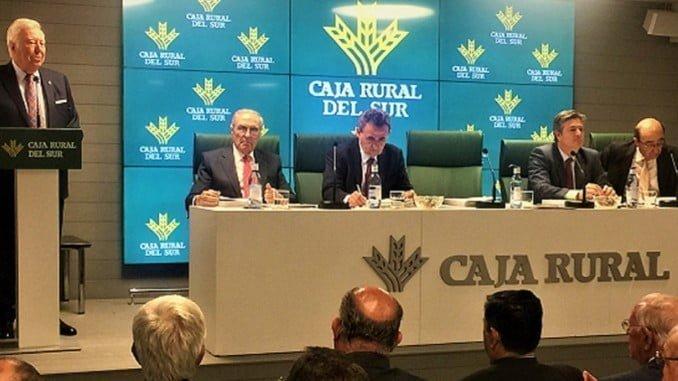 El presidente de Caja Rural del Sur presentó el informe a la Asamblea General de socios de la entidad