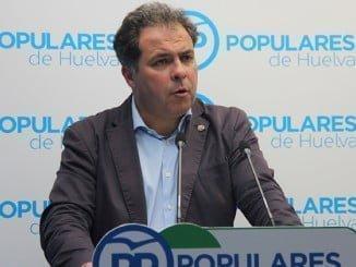 Duarte (PP) dice que ellos actuarán cuando el portavoz de la Agrupación y presidente del CESH, reivindique todas las infraestructuras a todas las administraciones independientemente de su color político