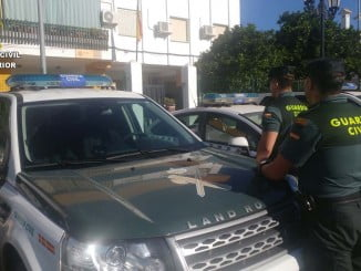 La rápida actuación de la Guardia Civil evitó el robo