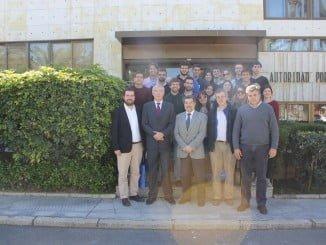 Estudiantes de la Universidad Politécnica de Madrid han visitado el Puerto