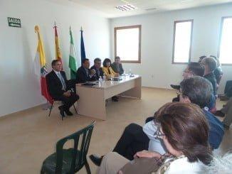 Caraballo inaugura las jornadas junto al alcalde de Fuenteheridos y la delegada de Cultura
