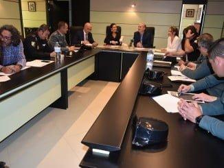 Grávalos preside la Junta de Seguridad para preparar la romería de la Bella en Lepe