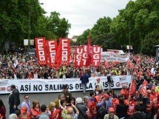 Los sindicatos llaman a la movilización reclamando la mejora de la situación económica