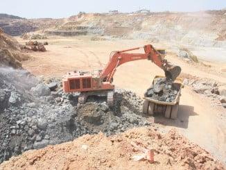 La mina de Riotinto ha procesado 6,5 millones de toneladas de mineral en 2016