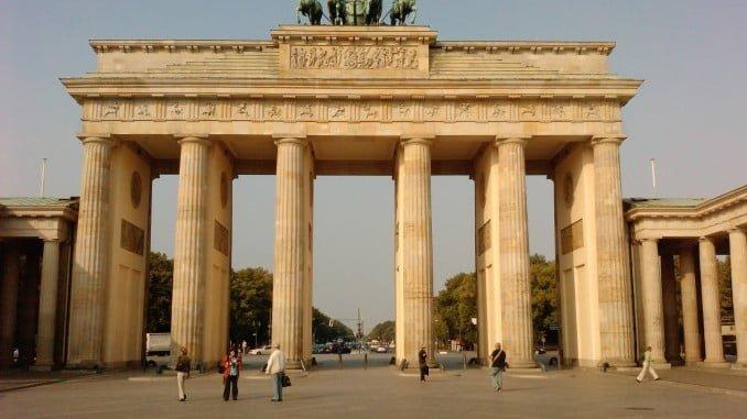 Puerta de Brandenburgo en Berlín, símbolo de Alemania