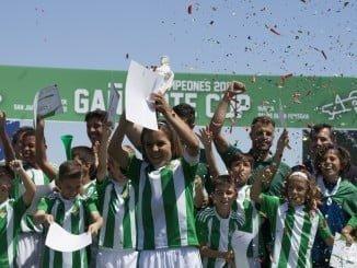 El Real Betis Balompié conquista la Gañafote Cup Alevín