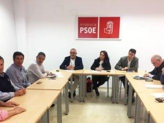 Reunión del Grupo Parlamentario Socialista con las comunidades de regantes