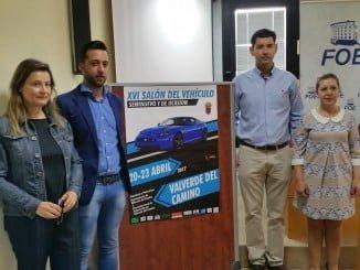 Presentación de la feria del automóvil de Valverde en la sede de la FOE