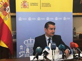"""El delegado destaca el compromiso del Gobierno de España con un plan de empleo agrario """"crucial"""" para  Andalucía y que genera casi 2 millones de jornales"""